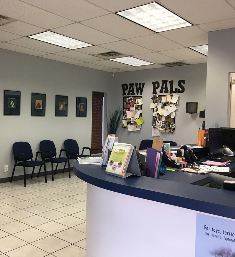 Sala de espera: Formularios en Austin